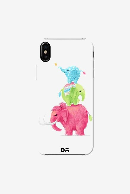DailyObjects Candy Elephants Case Cover For iPhone X