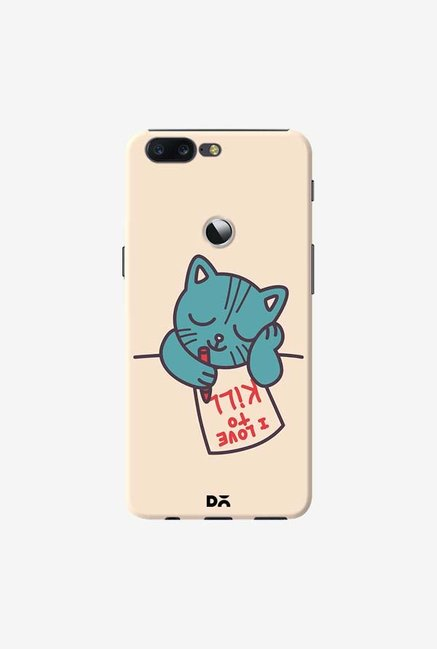 DailyObjects I Love To Kill Cat Case Cover For OnePlus 5T
