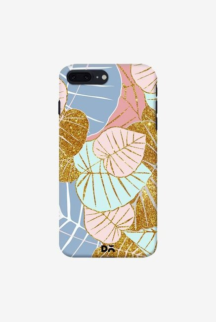 DailyObjects Floral Gold Case For iPhone 7 Plus