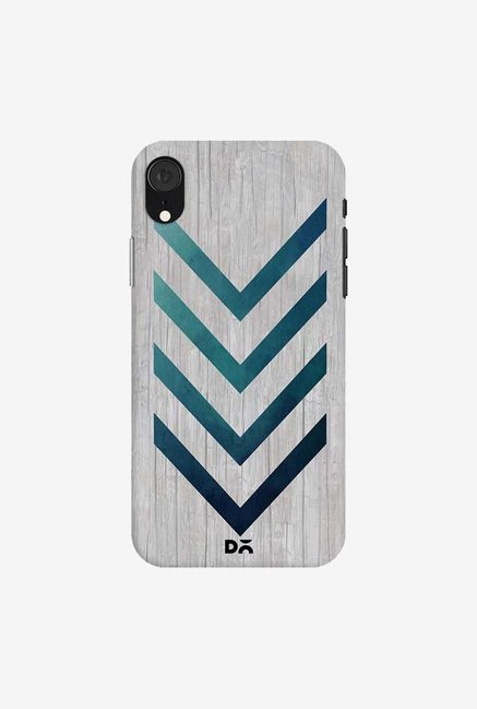 DailyObjects Blue Arrow Case Cover For iPhone XR