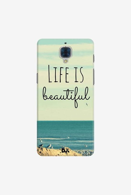 DailyObjects Life Is Beautiful Case For OnePlus 3T