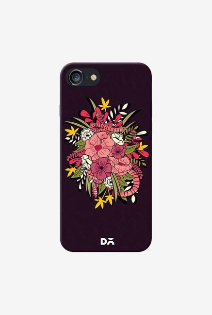 DailyObjects Gilded Flower Jungle Case Cover For iPhone 8