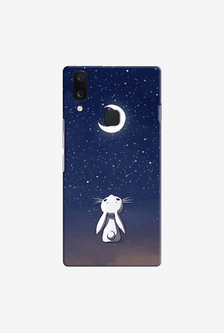 DailyObjects Moon Bunny Case Cover For Vivo V11
