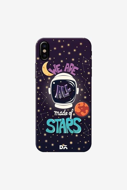 DailyObjects Made Of Stars Space Case Cover For iPhone X
