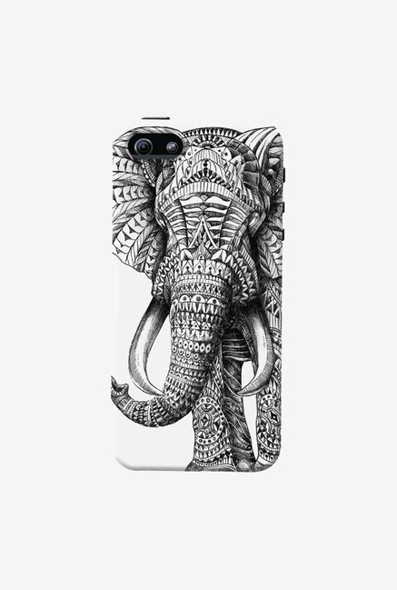 DailyObjects Ornate Elephant Case For iPhone 5/5S