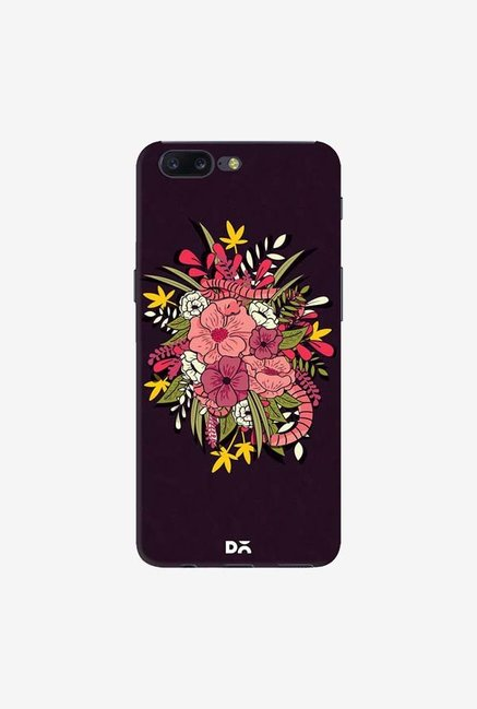DailyObjects Gilded Flower Jungle Case Cover For OnePlus 5