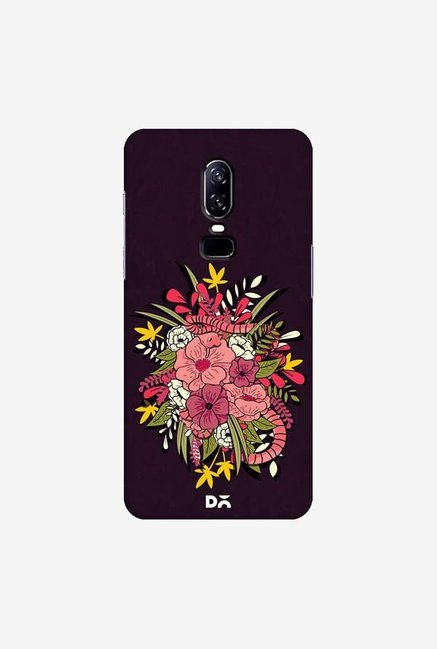 DailyObjects Gilded Flower Jungle Case Cover For OnePlus 6