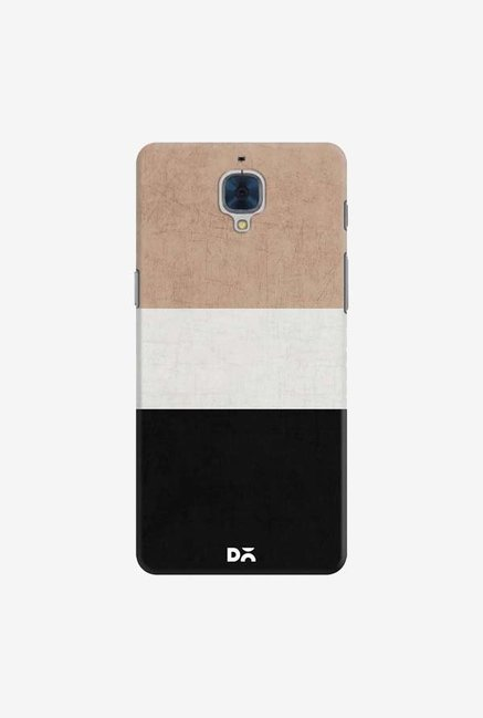 DailyObjects Natural Cream and Black Case For OnePlus 3T
