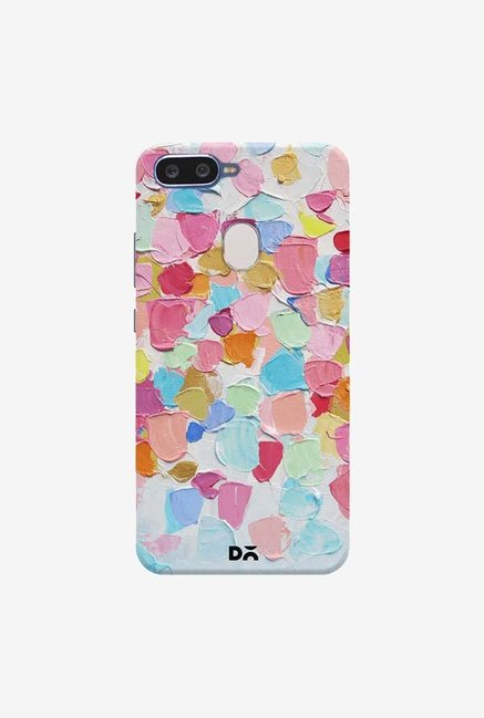 DailyObjects Amoebic Confetti Case Cover For Oppo F9