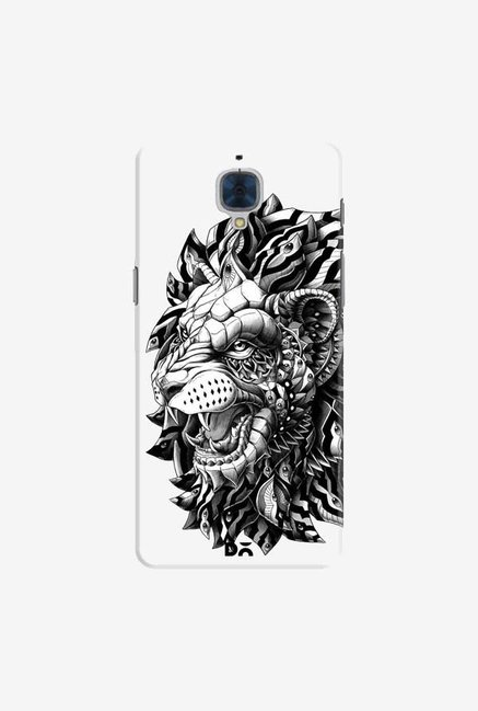 DailyObjects Ornate Lion Case For OnePlus 3T