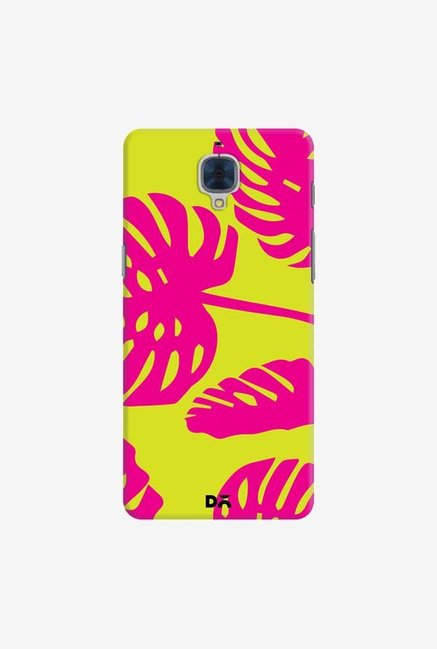 DailyObjects Palms Bright Pink Case For OnePlus 3T