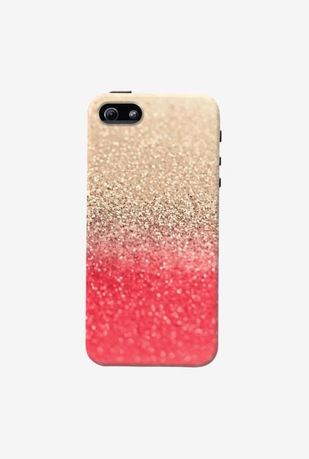 DailyObjects Gatsby Coral Gold Case For iPhone 5/5S