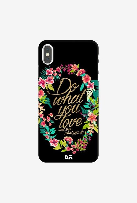 DailyObjects And Love What You Do Case Cover For iPhone XS Max