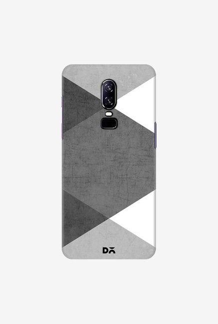DailyObjects Black and White Triangles Case Cover For OnePlus 6