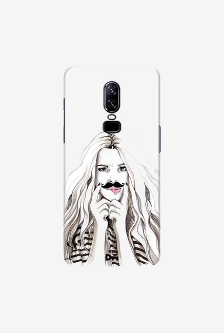 DailyObjects Say What Case Cover For OnePlus 6
