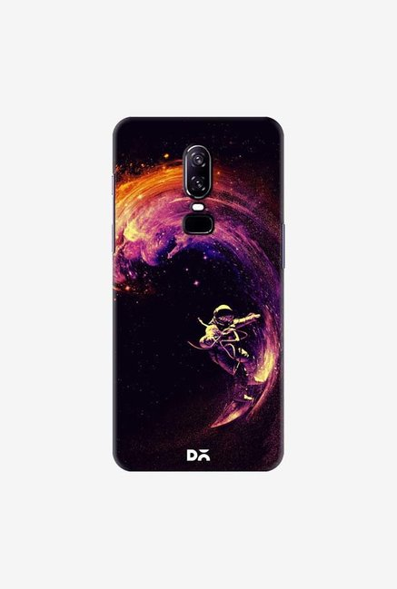 DailyObjects Space Surfing Case Cover For OnePlus 6