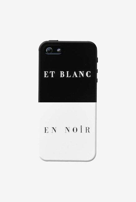 DailyObjects Et Blanc En Noir Case For iPhone 5/5S