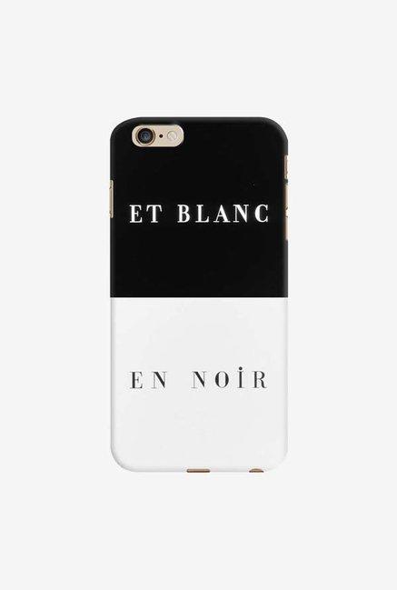 DailyObjects Et Blanc En Noir Case For iPhone 6 Plus