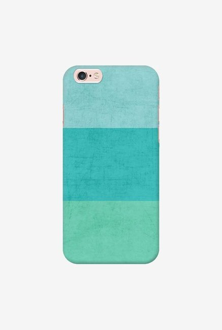 DailyObjects Three Stripes Teal Case For iPhone 6s