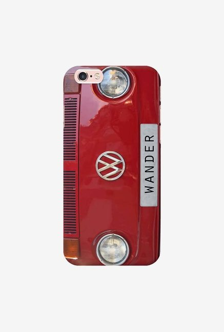DailyObjects Wander Red Case For iPhone 6s