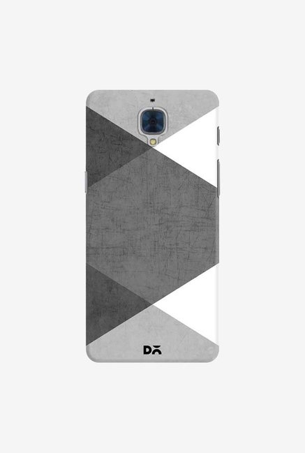 DailyObjects Black and White Triangles Case For OnePlus 3T