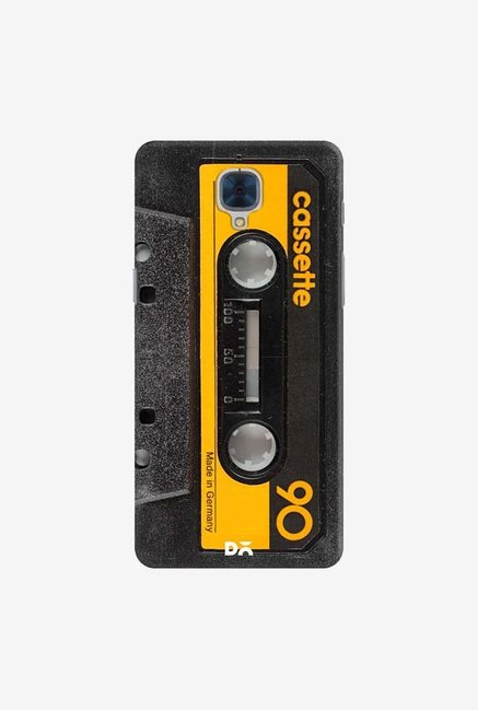 DailyObjects Cassette Yellow Case For OnePlus 3T