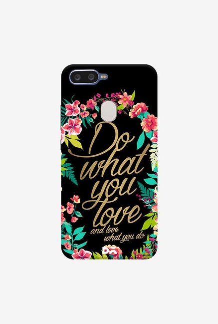 DailyObjects And Love What You Do Case Cover For Oppo F9