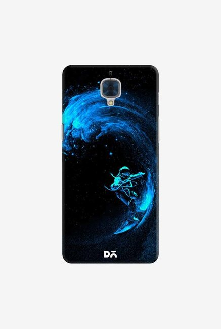 DailyObjects Space Surfing Blue Case For OnePlus 3T