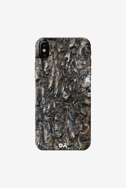DailyObjects Charred Wood Detail Case Cover For iPhone X