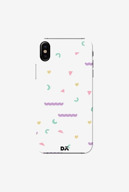 DailyObjects Chunky Geo Case Cover For iPhone X