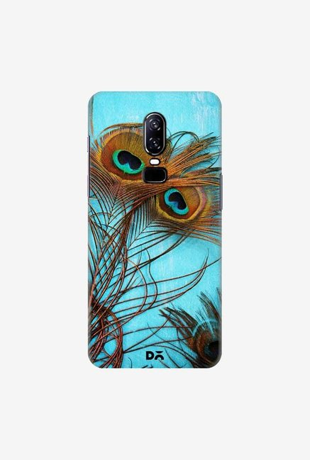 DailyObjects 3 Peacock Feathers Case Cover For OnePlus 6