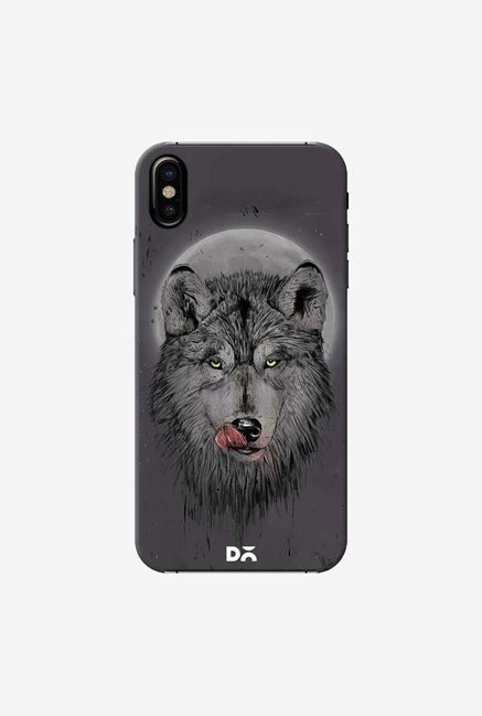 DailyObjects Dinner Time Dark Case Cover For iPhone X