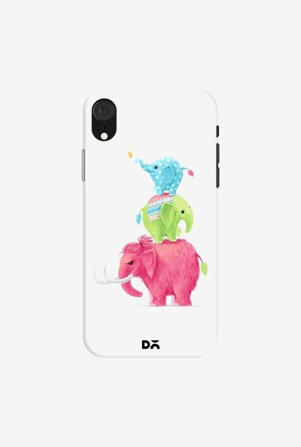 DailyObjects Candy Elephants Case Cover For iPhone XR