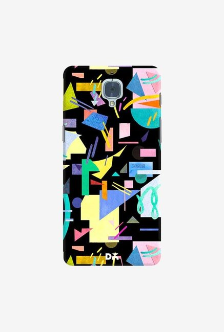 DailyObjects Geometric Pop Case Cover For OnePlus 3T