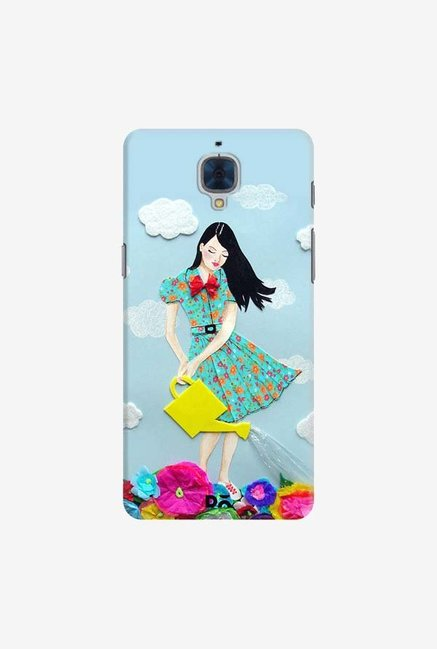 DailyObjects Girl In Flowerland Case For OnePlus 3T