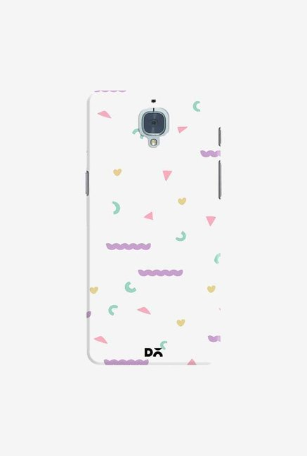 DailyObjects Chunky Geo Case Cover For OnePlus 3T