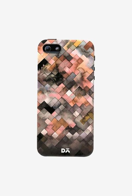 DailyObjects Beige Moody Geometry Case Cover For iPhone 5/5S