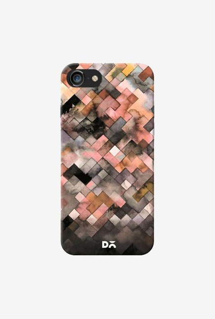 DailyObjects Beige Moody Geometry Case Cover For iPhone 7
