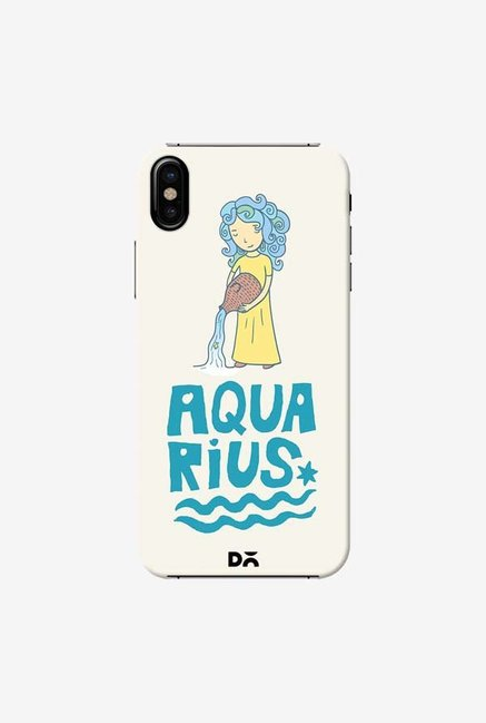 DailyObjects Aquarius Case Cover For iPhone X