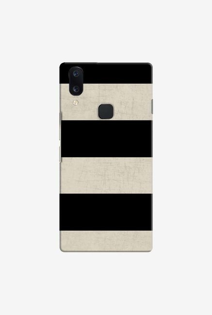 DailyObjects Vintage Black Stripes Case Cover For Vivo V11