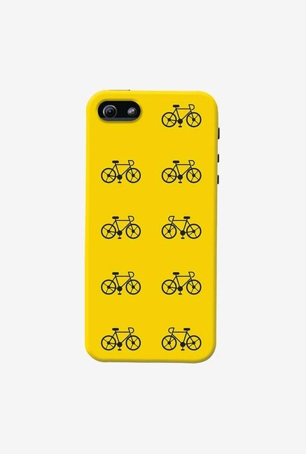 DailyObjects Yellow Cycle Case For iPhone 5/5S
