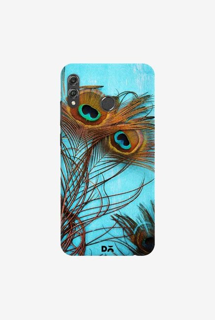 DailyObjects 3 Peacock Feathers Case Cover For Huawei Honor 8X