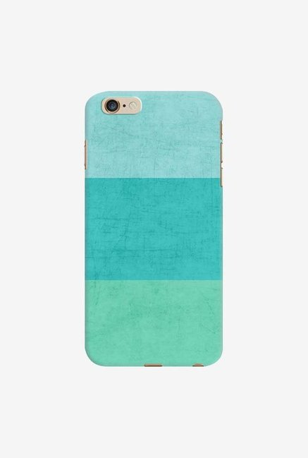 DailyObjects Three Stripes Teal Case For iPhone 6 Plus