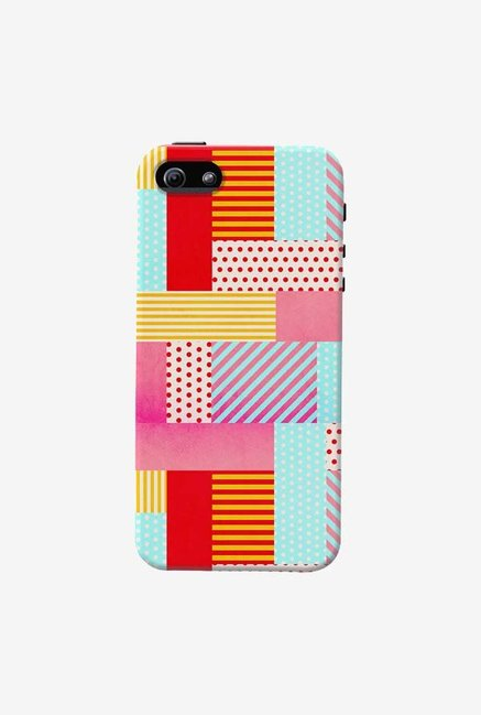 DailyObjects Geometric Pop Case For iPhone 5/5S