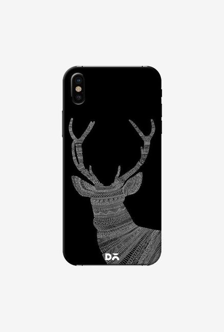 DailyObjects Aztec Dark Stag Case Cover For iPhone X