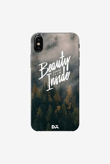 DailyObjects Beauty Comes From Inside Case Cover For iPhone X