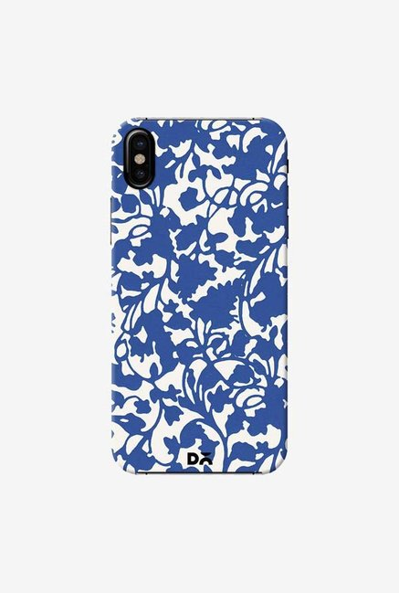DailyObjects Eatrh Blue Case Cover For iPhone X