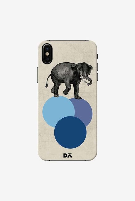 DailyObjects Elephant Balance Case Cover For iPhone X