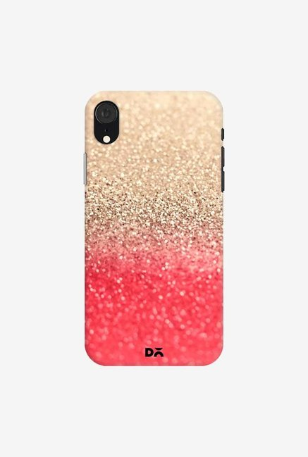 DailyObjects Gatsby Coral Gold Case Cover For iPhone XR