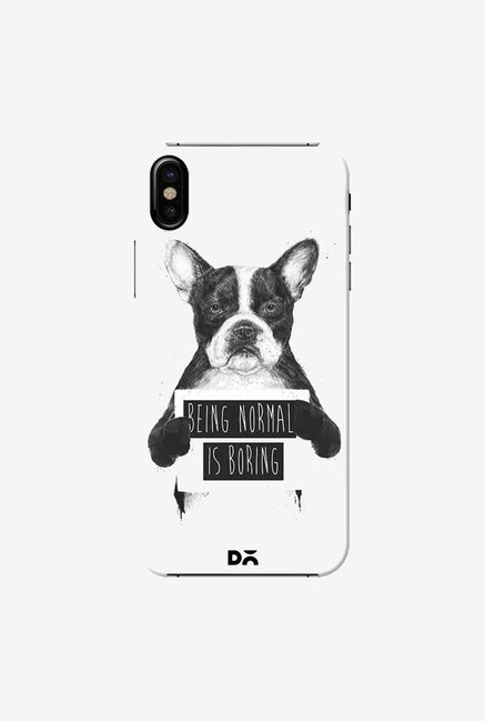 DailyObjects Being Normal Is Boring Case Cover For iPhone X